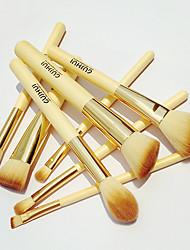 8pcsPincel para Sombra de Ojos / Pincel para Labios / Cepillo de Cejas / Pincel Delineador / Cepillo Corrector / Cepillo para Polvos /