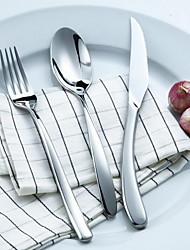 Métal Couteau de table Cuillères / Fourchettes de table / Couteaux de table 3 Pièces