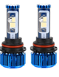 liancheng® 120w 10000lm 9 ~ 32V высокая яркость Cree COB светодиодные фары комплект-9007 / HB5 6k 8k для автомобиля, внедорожных, UTV,