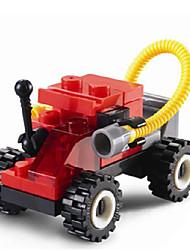 Mini Building Fire Rescue Team Children Puzzle Toy Building Blocks