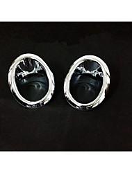 12-13 X-Trail Nissan передняя противотуманная фара передняя противотуманная фара рама ABS металлизированный