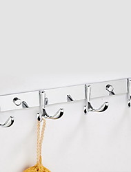 Stainless Steel Never Fade Butterfly Hook For Kitchen Bathroom Bedroom (4 Hooks)