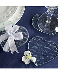 Glass Practical Favors - Coasters Kitchen Tools Fairytale / Gender Reveal Party / Pregnant / New Mom / Baby Bump