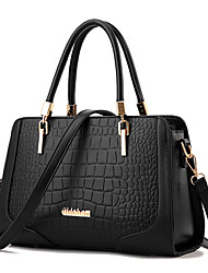 M.Plus® Women Fashion Crocodile Messenger/Shoulder Crossbody Bag/Handbag Tote