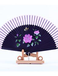 Seda Los aficionados y sombrillas-1 Piezas / Juego Pedazo / Set AbanicoTema Playa Tema Jardín Tema Asiático Tema Floral Tema Clásico tema
