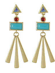 Earring Geometric Jewelry Women Fashion Party / Daily / Casual Alloy 1 pair Gold KAYSHINE