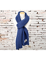 Women Wool Scarf,Fashionable JewelrySolid