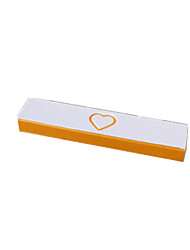 Packaging & Shipping Yellow And White Heart-Shaped Jewelry Box (M16204) A Pack of Two
