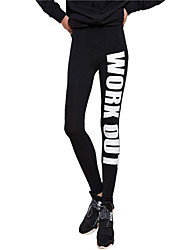 Women's Running Pants/Trousers/Overtrousers Tights Leggings BottomsBreathable Dust Proof Antistatic Held-In Sensation Comfortable