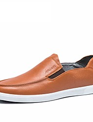 2016 spring summer Style Soft Men loafers High Quality Brand Genuine Leather Shoes Men's Flats Driving Shoes