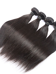 7A Brazilian Virgin Hair Straight 4Pcs/lot Brazilian Straight Hair Bundles Meches Bresilienne Lots