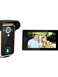 intelligente visuelle haut-parleur téléphone 7 pouces HD à la porte