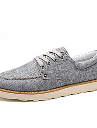 British Style Men's Soft Breathable Flats for Summer Autumn with Casual Style Shoes for Walking