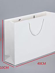 White Color Other Material Packaging & Shipping Gift Bag A Pack of Four,Sale:White