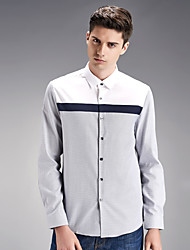 Autumn new shirt cotton men's shirts wash and wear business men's wear long sleeve white shirt SY-1879