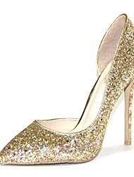 Women's Shoes Microfibre / Patent Leather Spring / Summer /  Office & Career / Party & Evening / Dress / Casual / Rose Gold