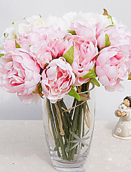 Hi-Q 1Pc Decorative Flower Peonies Flower Wedding Home Table Decoration Artificial Flowers
