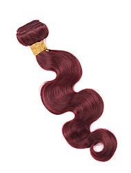 Menschenhaar spinnt Brasilianisches Haar Große Wellen 12 Monate 1 Stück Haar webt