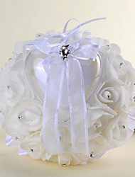 White 1 Ribbons Crystal Satin
