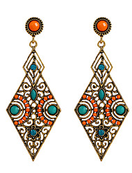 Fine Jewelry European Style High-Grade Charms Zinc Alloy Earrings