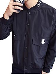 DMI™ Men's Mock Neck Print Letter Casual Jacket(More Colors)