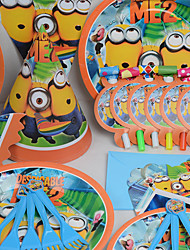 Birthday Party Tableware-6Piece/Set Tableware Sets Tag Plastic Classic Theme Other Non-personalised