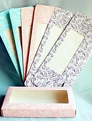 6 Peça/Conjunto Titular Favor-Criativo Papel de CartãoCaixas de Ofertas Bolsas de Ofertas Latinhas Lembrança Jarros e Garrafas para Doces