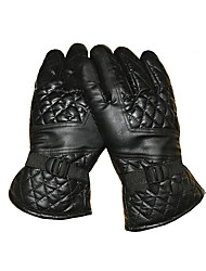 Winter Gloves Unisex Keep Warm Ski & Snowboard / Snowboarding Black Leather Free Size-Others