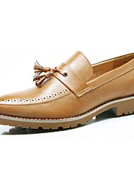Westland® Men's Oxfords  Comfort Leather Wedding / Party & Evening / Casual Low Heel Slip-on / Tassel / Polka Dot