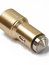 Hasmine® Dual-USB Car Cigarette Lighter Power Adapter for Smartphones and Tabs