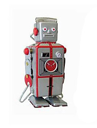 Novelty Toy  Puzzle Toy  Educational Toy  Wind-up Toy Novelty Toy  Warrior  Robot Metal Silver For Kids