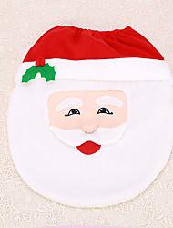 Seat Cover claus decoração banheiro banheiro material de casa interiores 1pc de Santa do Natal
