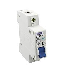 DZ47 disjuntor miniatura interruptor do ar único p