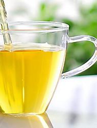 chaleur 150ml de haute qualité résistant à verre borosilicate fleur tasse soufflé à la main petite tasse de thé
