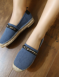 Women's Loafers & Slip-Ons Comfort Fabric Casual Blue Pink