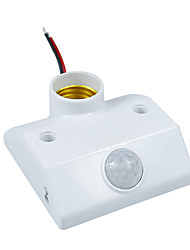 Infrared IR Sensor Switch PIR Sensor Motion Auto-lighting holder for E27 energy-saving lamps and LED lights(AC200-240V)