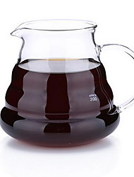 High-temperature Resistant Clouds Sharing Glass Coffee Pot (360ml)
