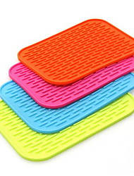 Large Thick Silicone Insulation Mat Kitchen Table Pad Coasters Anti-hot Non-slip Mats for Car