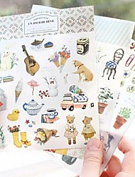 BirthdayFestival Paper 1set Stickers