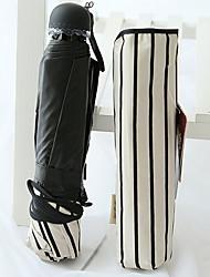 Negro / Color Beige Paraguas de Doblar Soleado y lluvioso textil Viaje / Lady / Hombre