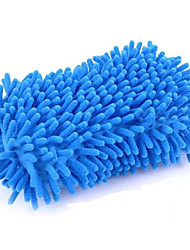 2 Pcs Large Car Cleaning Sponge Coral Car Wash Glove Box