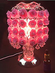 plug-in électrique douce lampe aing genre de cadeau de fête de mariage 1pc lampe roses de bureau tactile