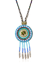 Necklace Choker Necklaces Jewelry Alloy Wedding Blue 1pc Gift