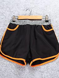 Course / Running Short baggy Femme Respirable / Confortable Polyester Course/Running Sportif non élastique Ample Vêtements de Plein Air