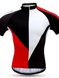 Sportif Vélo/Cyclisme Ensemble de Vêtements/Tenus Homme Manches courtes Respirable / Résistant à la poussière / Pare-vent / Confortable