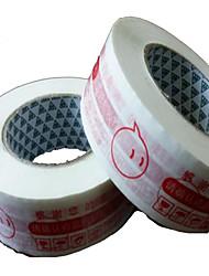 пользовательские предупреждения Taobao красные ленты уплотнительная лента ширина 45мм 25мм плоть