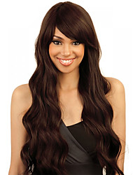Brown Color Cosplay Synthetic Wigs Cheap Wave Wigs Wigs