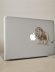 león adhesivo decorativo para macbook air / Pro / Pro con retina