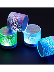 A9 Wireless Bluetooth Speakers, The LED Sound Card, Mini  Light Colorful Atmosphere Car Audio