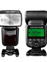 sidande® df-800 1 / 8000s drahtlose TTL-Blitzlicht Speedlite für Nikon D7100 D7000 D5100 D5200 D900 DSLR-Kamera